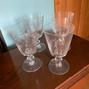 Antique/Vintage Drinking Glaases